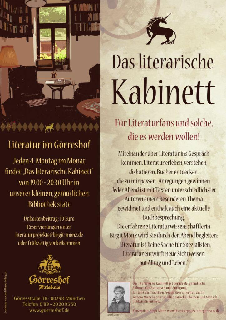 Das literarische Kabinett Görreshof